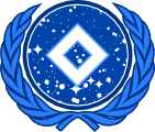 The crest of the United Stellar Commonwealth.